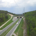 Zdjęcie autostrady - widok z góry
